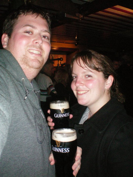 Having a Guinness with a friend! Celebrate St. Patrick's Day, Dublin, Ireland, Guinness