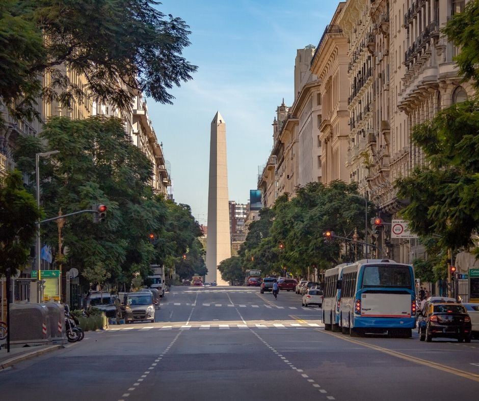 The obelisk of Buenos Aires. Things to do in Buenos Aires, Argentina, bucket list in Buenos AIres.
