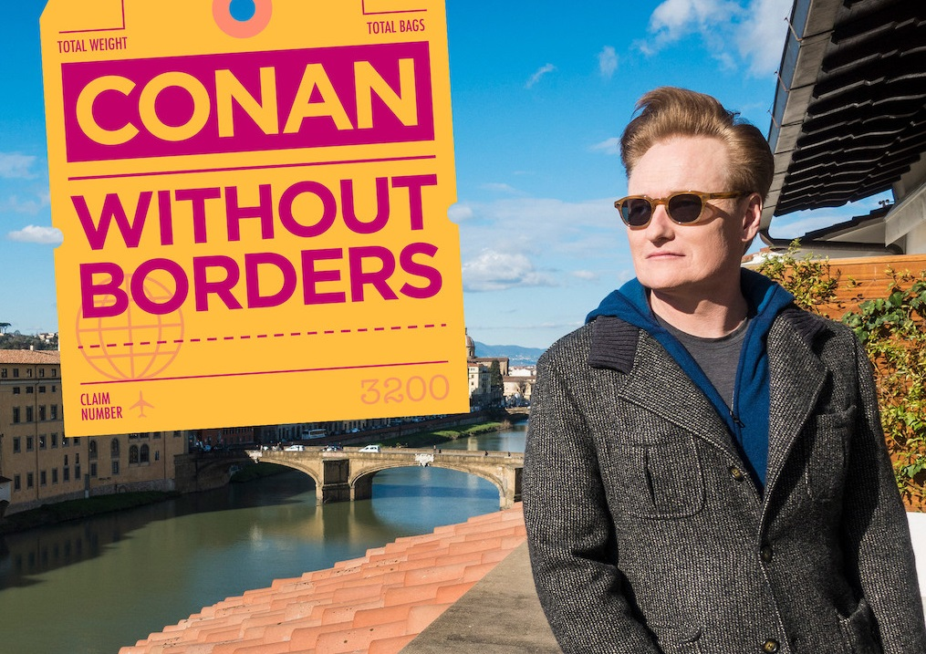 Netflix Travel shows - Conan without borders