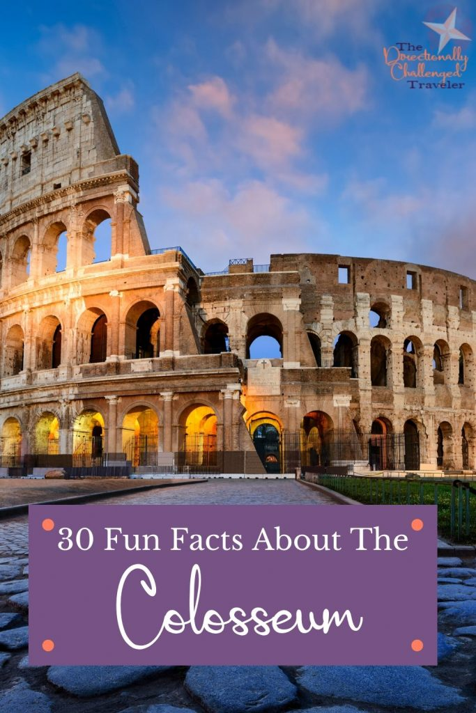 Fun facts about the Colosseum, Rome. Things to know about the Colosseum before visiting.