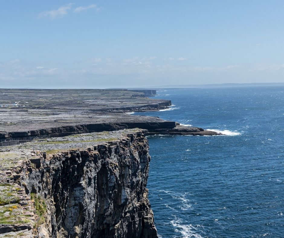 The Aran Islands boast breathtaking views and are worth a visit during your two days in Galway.