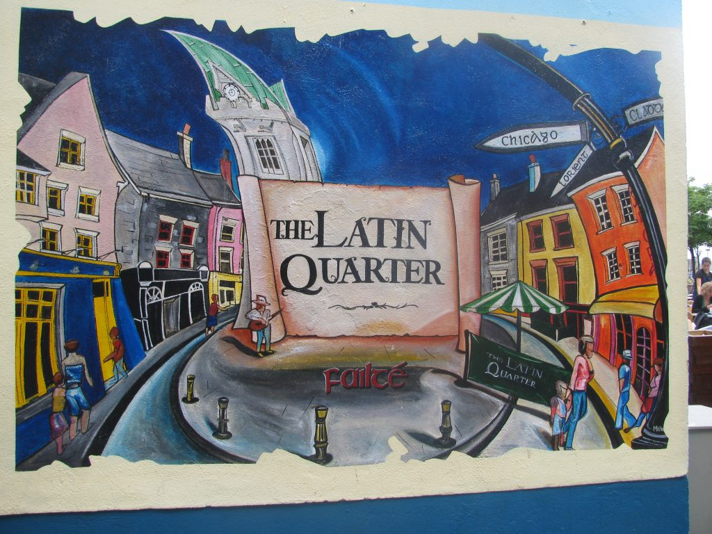 The Latin Quarter is in the hear of Galway. You can easily wander around this area for hours during your two days in Galway.