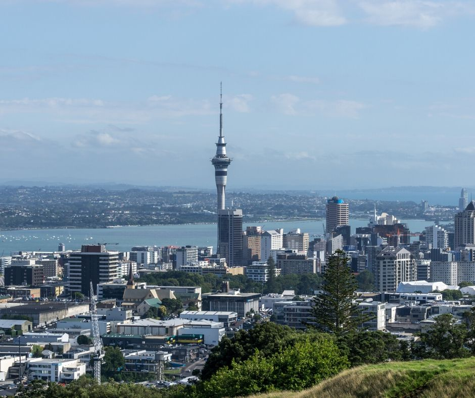 View of Auckland from Mount Eden makes it one of the top things to do in Auckland NZ