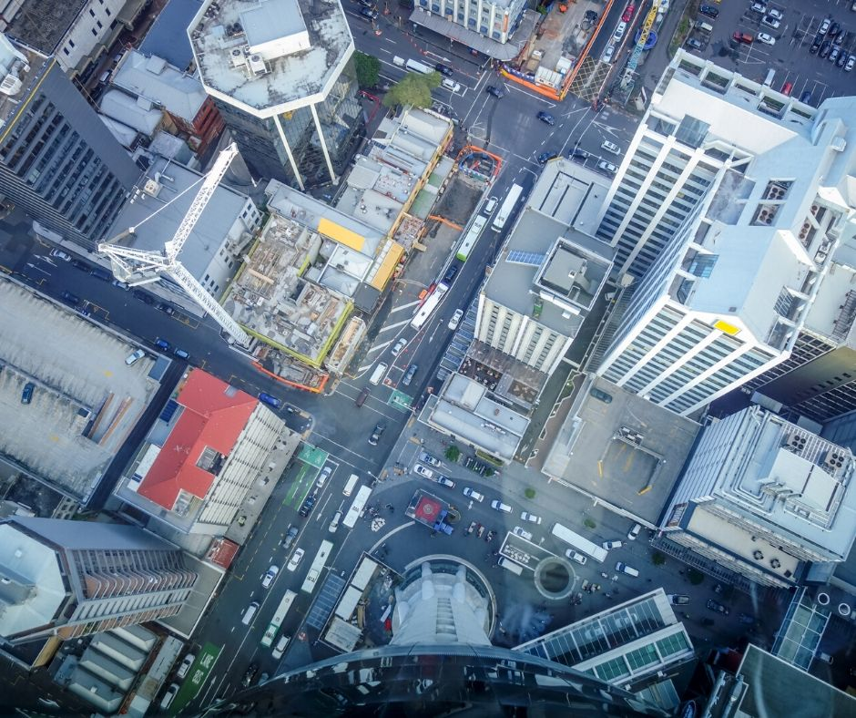 The view down from the Skytower makes it one of the top things to do in Auckland NZ