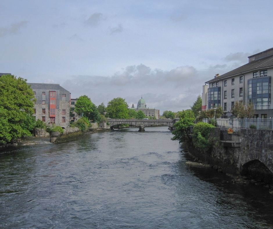 The River Corrib is the shortest river in Europe - you'll probably walk near this a few times during your two days in Galway.