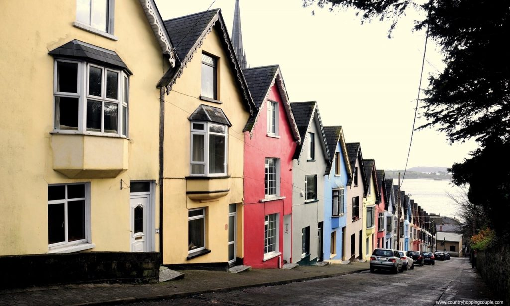 Cobh is a city filled with  colorful houses and great personality.  Be sure to add this to your Ultimate Ireland Bucket List!