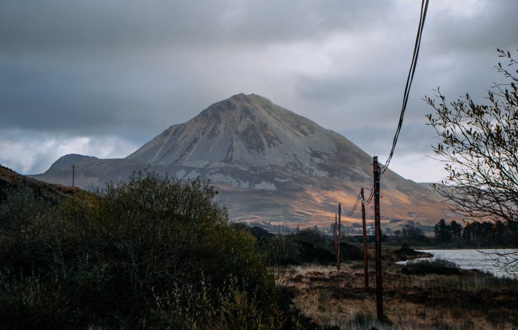 The Errigal mountain is a wonderful view over Gweemore. Be sure to put this on your Ultimate Ireland Bucket List