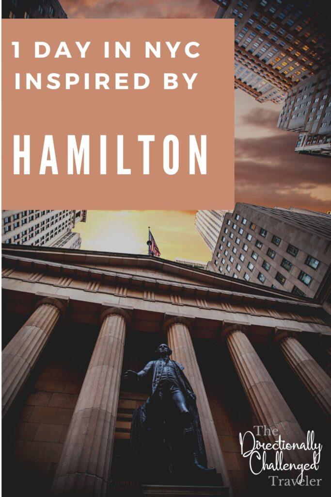 Alexander Hamilton's New York City Itinerary