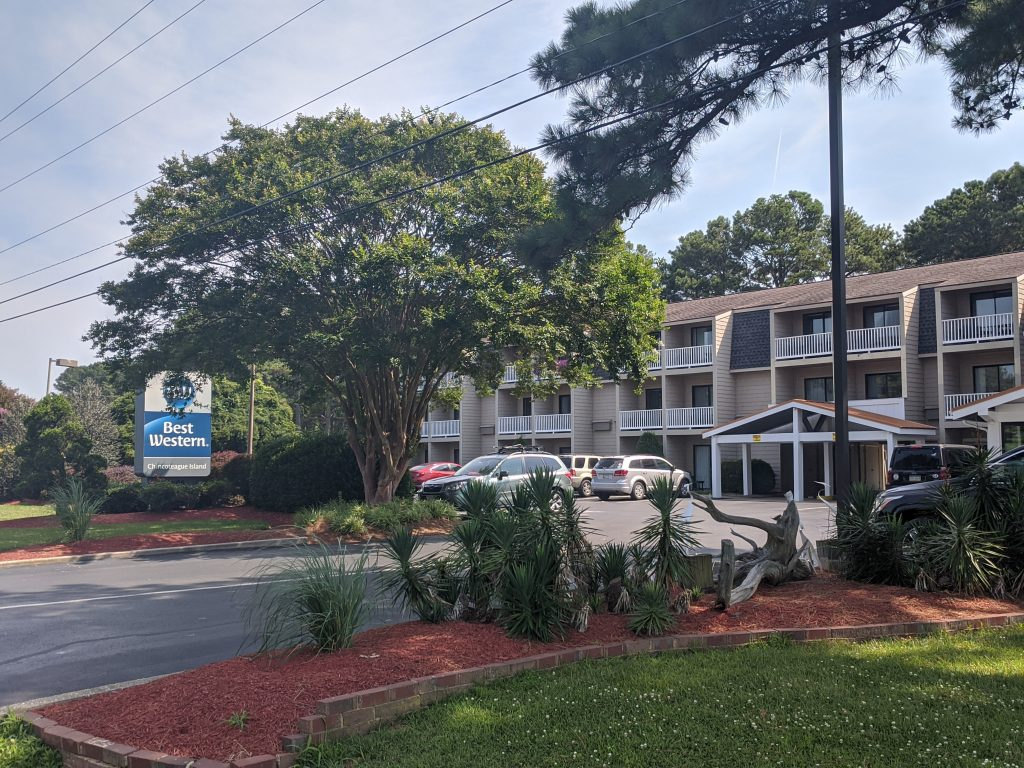 The Best Western of Chincoteague is in a great location.