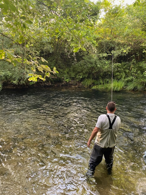 Fly Fishing in River Moy is any angler's dream and should be on their ultimate Ireland bucket list.