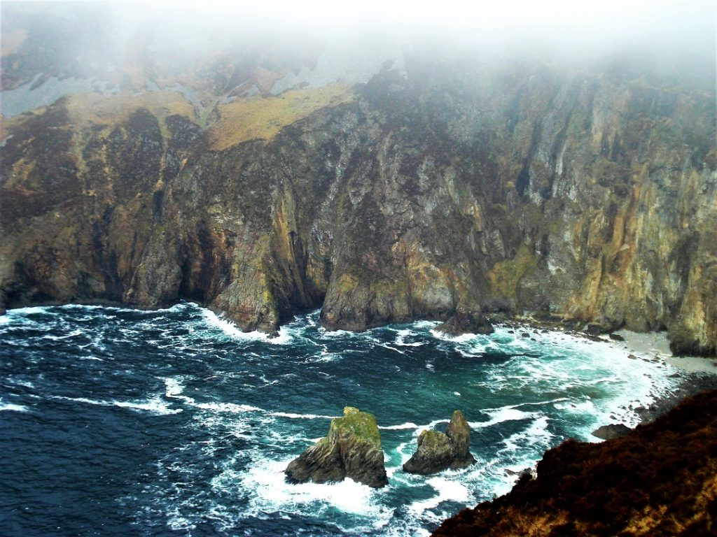 Slieve League Cliffs are often skipped for the more-popular Cliffs of Moher, but they should definitely be on your Ultimate Ireland Bucket List.
