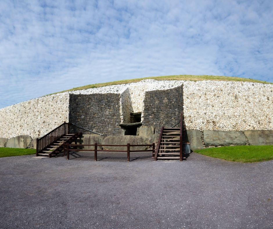 Newgrange is often overlooked by travelers for the pyramids and stonehenge but it is a must-visit on your Ultimate Ireland Bucket List!
