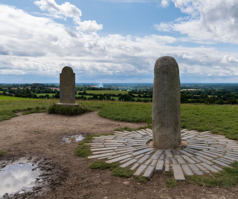 The Hill of Tara is connected to Irish mythology and should be included on your Ultimate Ireland Bucket List