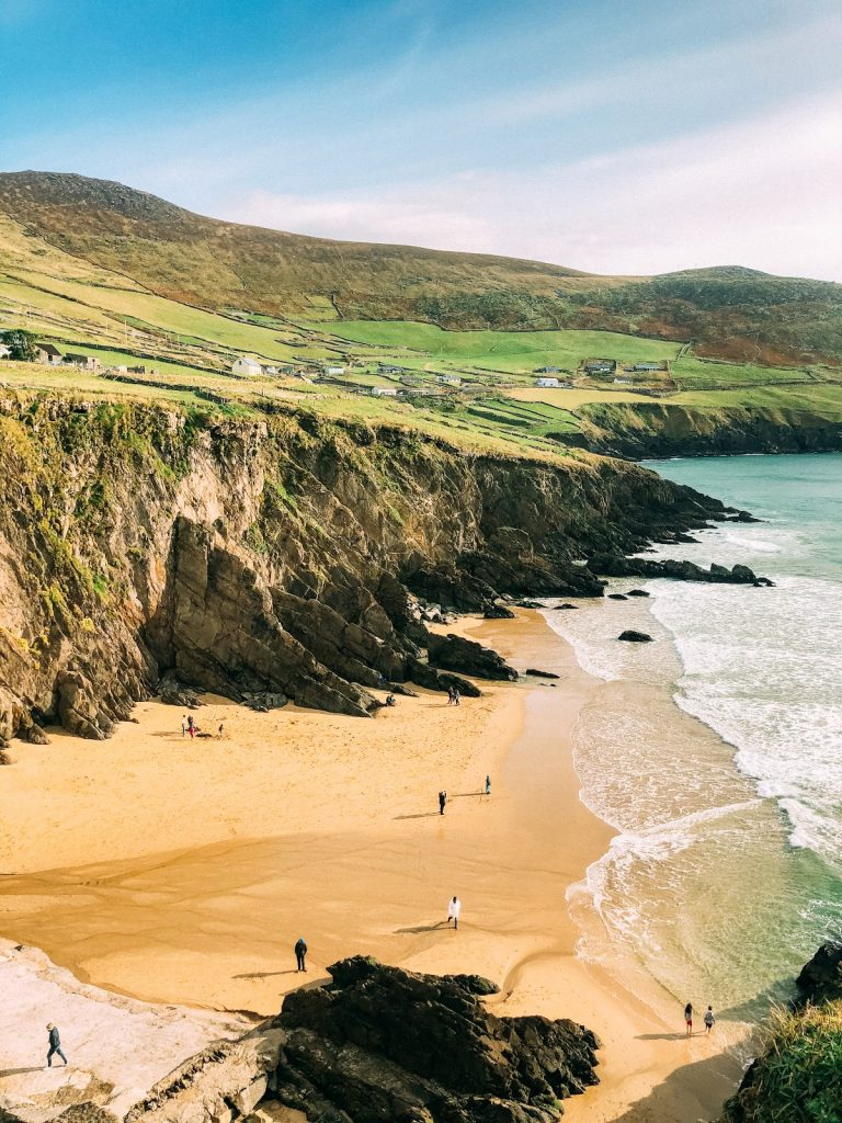 Dingle Peninsula looks like something out of a  movie and is worth putting on your Ultimate Ireland Bucket List