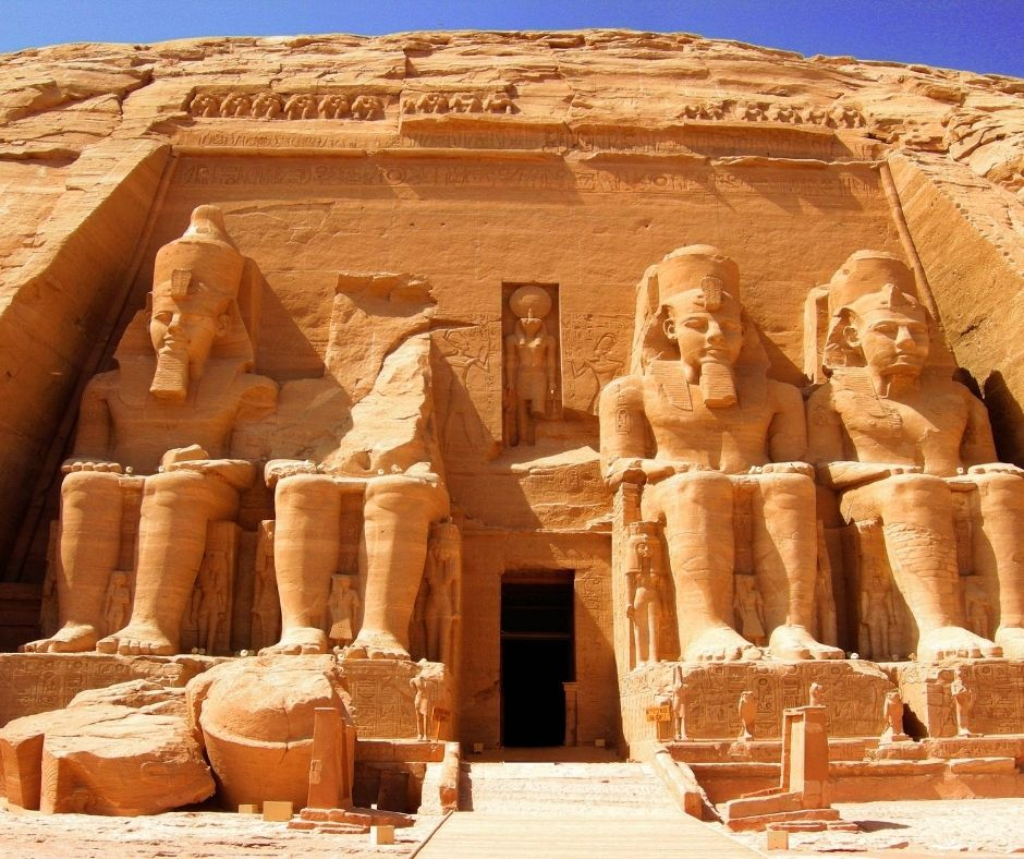 Visiting Abu Simbel in South Egypt