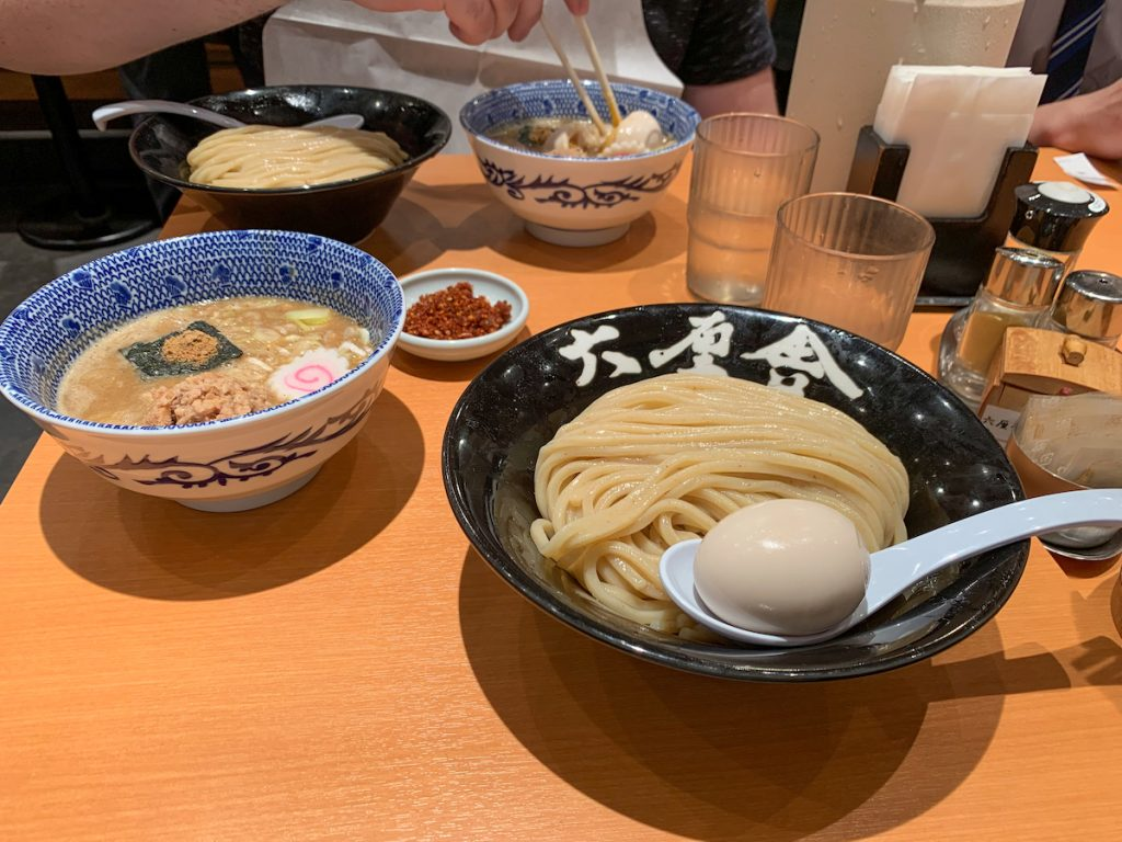 Dipping Ramen at Rokurinsha    Best places to eat in Tokyo.