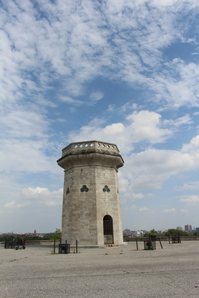 Moorish tower near Druid Hill Park is a unique stop during your weekend in Baltimore