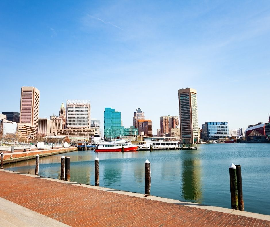 The Inner Harbor should not be missed during your weekend getaway to Baltimore.