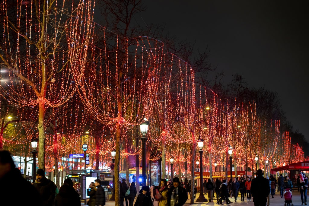 The incredible decor of Paris makes it one of the best places to celebrate New Years Eve in the world!