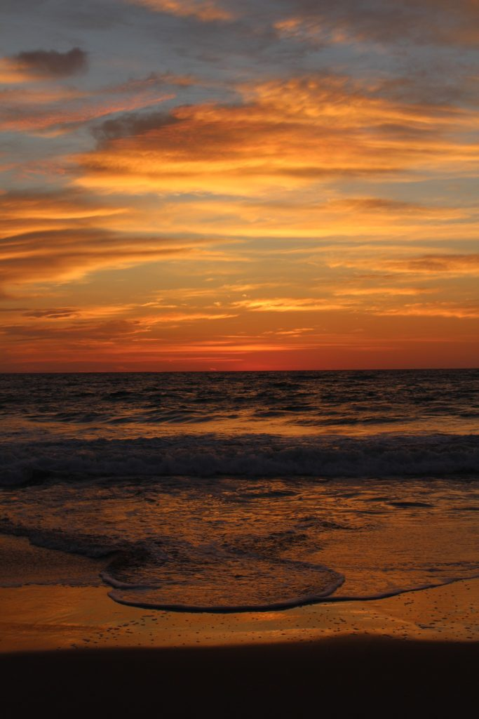 The sunrises in the Outer Banks vary day to day and are stunning.