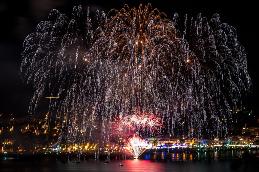 """The fireworks over Madeira have been names the """"greatest fireworks show in the world"""" making it one of the best places to celebrate NYE in the world."""