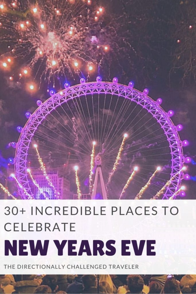 Incredible Places to Celebrate New Years Eve