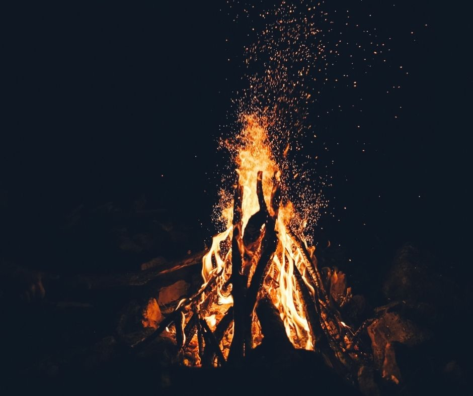 Bonfires are common traditions in Reykjavik.  Reykjavik is one of the best places to celebrate new years eve.