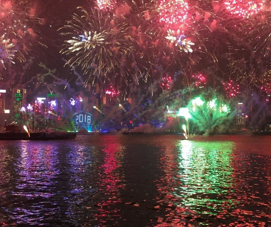 The celebration in Hong Kong has epic fireworks. This makes it one of the best places to celebrate New Years Eve around the world