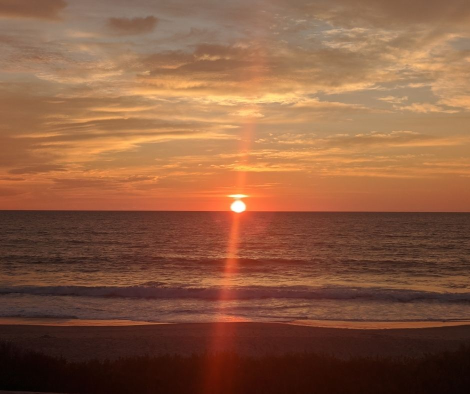 Seeing a sunrise is one of the best things to do in Corolla, NC