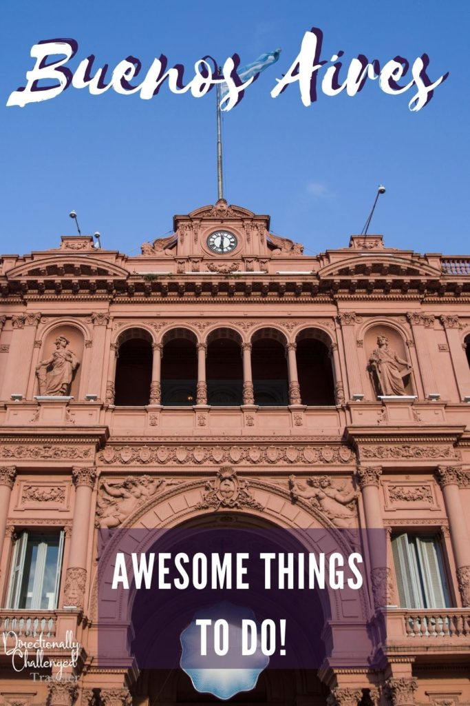 Best Things to do in Buenos Aires pin
