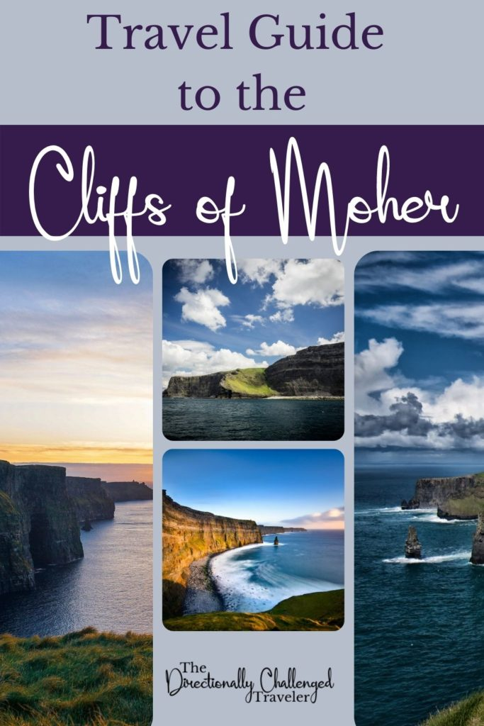 Ultimate Guide to Visiting the Cliffs of Moher pin