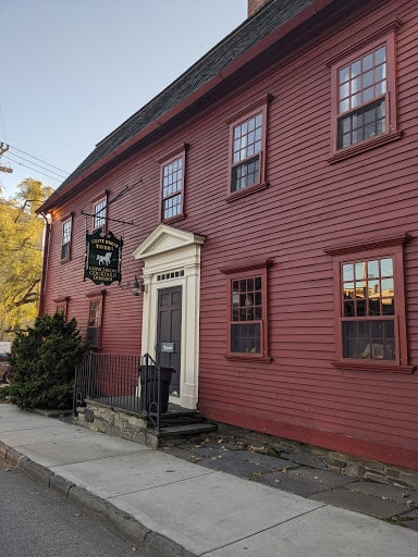 White Horse Tavern is one of the oldest taverns in the county and has great food - making it one of the best places to eat in Newport.