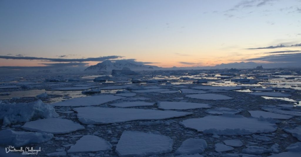 Sea ice in Antarctica  A great stay at home date idea for couples who love to travel is to create your bucket list and start planning!