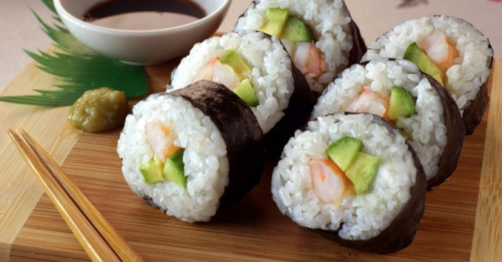 Shushi.    A great stay at home date idea for couples who love to travel is making sushi at home
