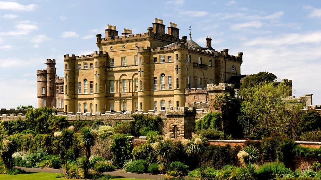Culzean Castle is one of the most beautiful castles in Scotland to visit.