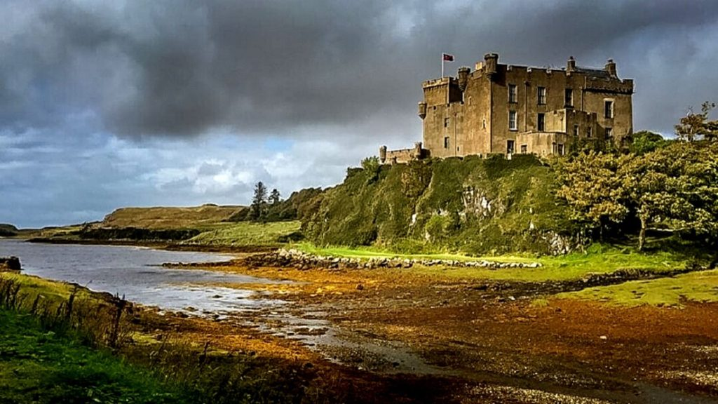 Dunvegan Castle is one of the best castles in Scotland to visit.