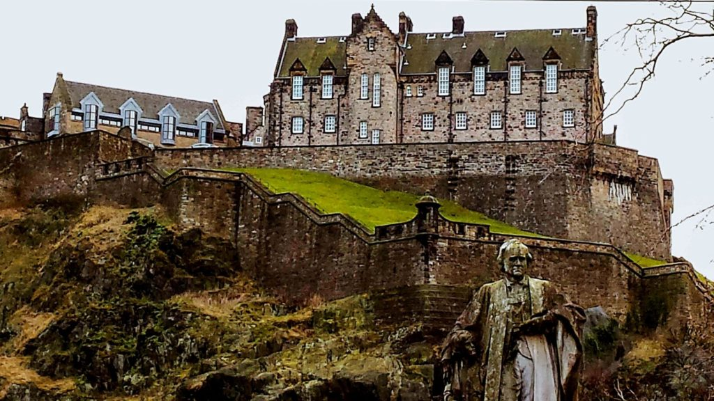 Edinburgh Castle is one of the best castles in Scotland to visit.
