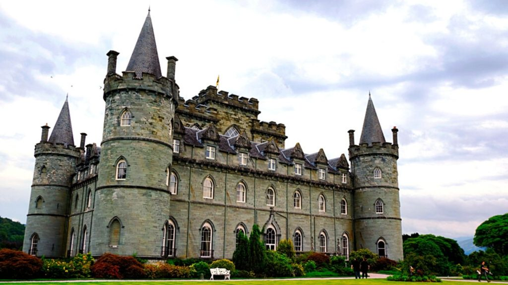 Inveraray Castle is one of the best castles in Scotland to visit.