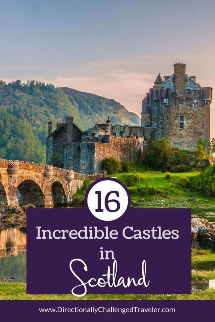 Best Castles to visit in Scotland pin