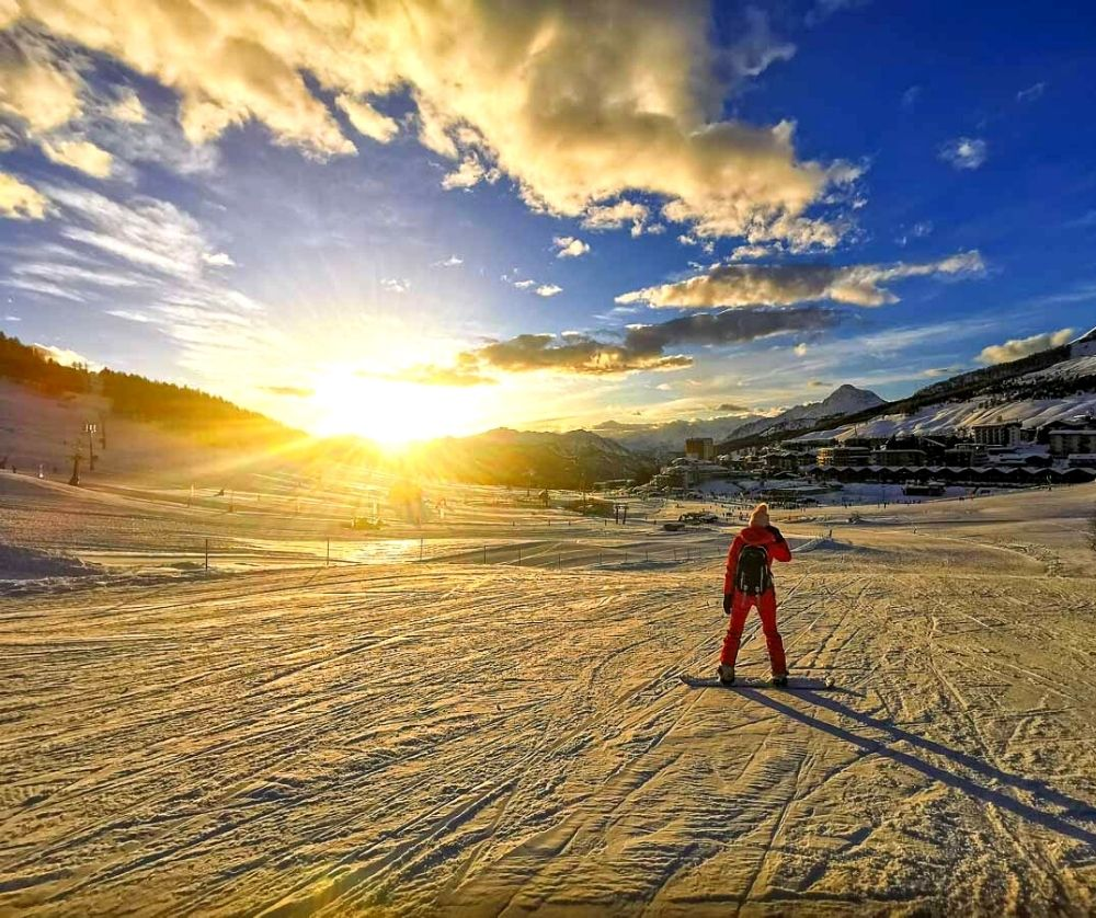 Skiing in Turin is one of the best things to do in Italy in winter.