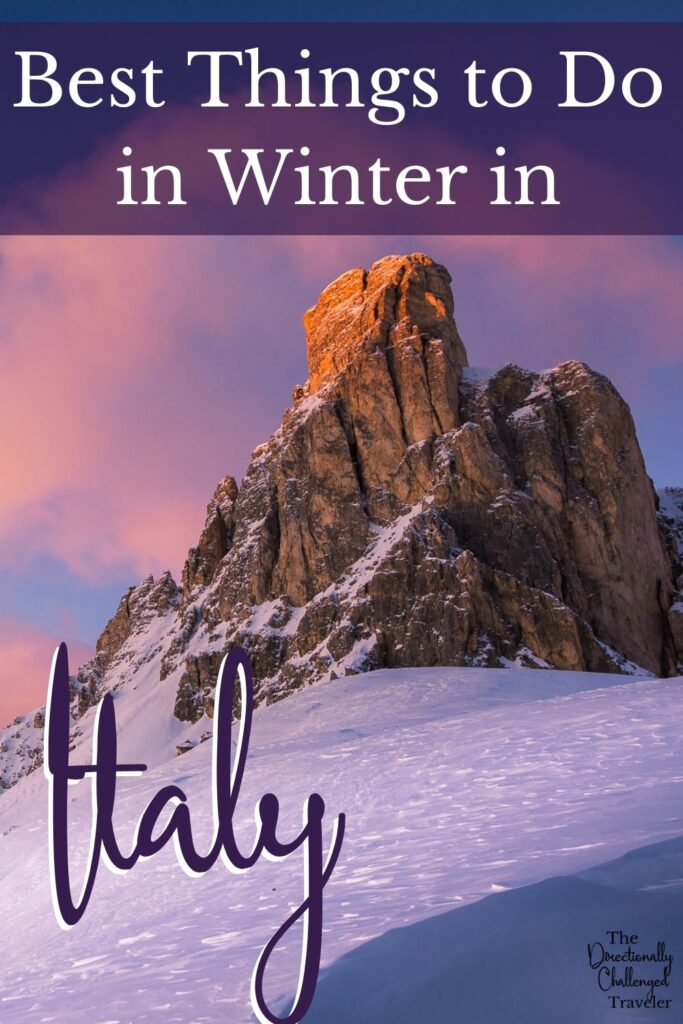 Visiting Italy in Winter