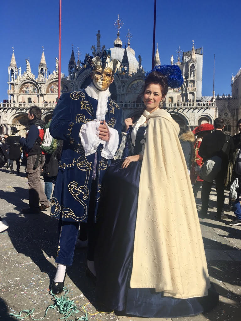 Celebrating Carnival in Venice is one of the best things to do in winter in Italy.